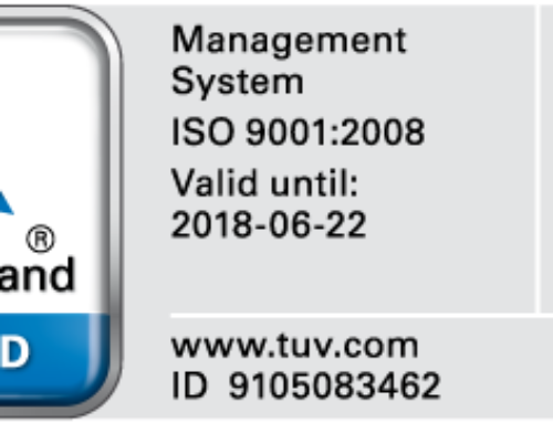 TUV ISO 9001 Certification